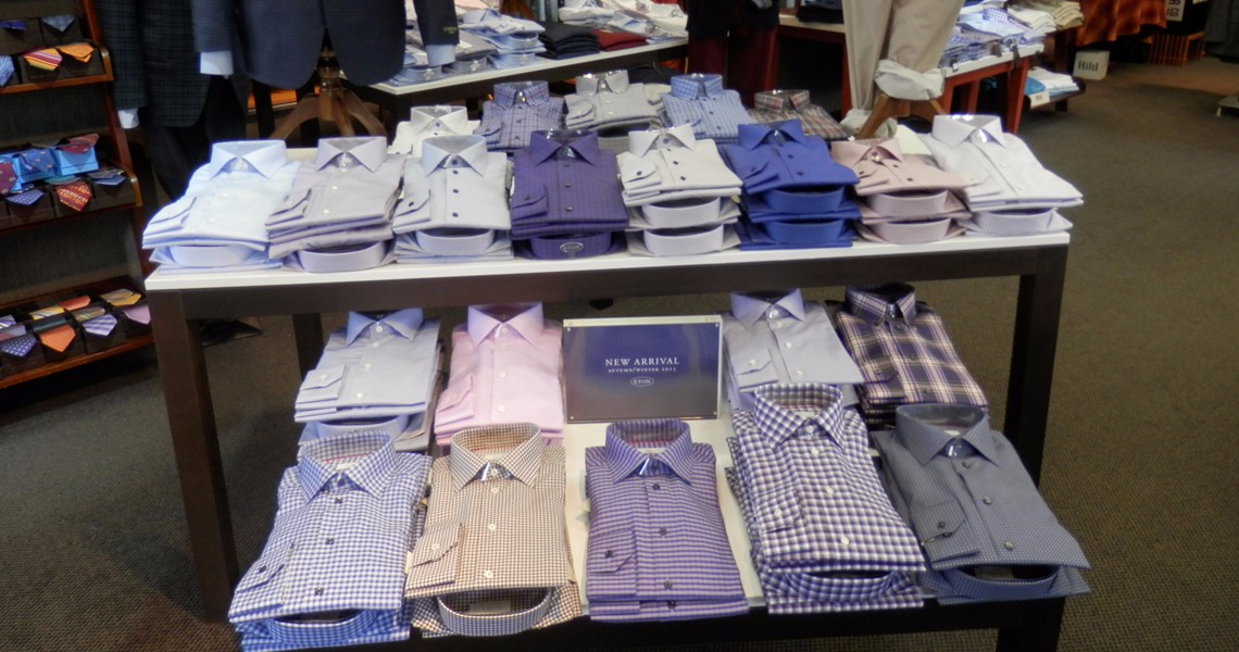 Woody's Mens Shop - Eton Shirts